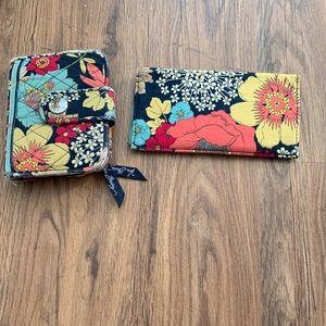 Vera Bradley wallet & checkbook cover